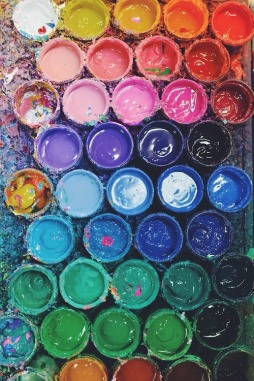 paint fight!