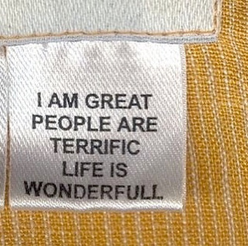 people are terrific