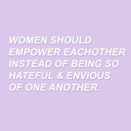 women should