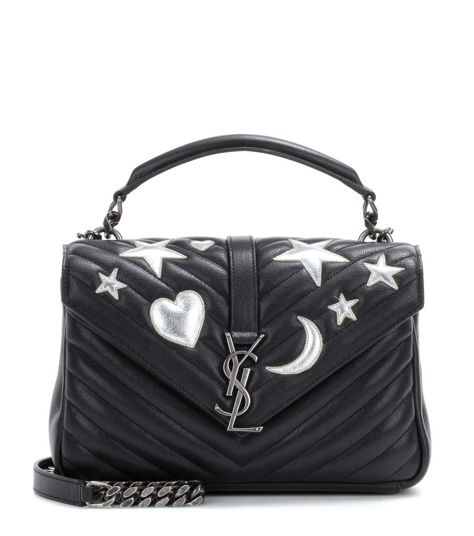 saint-laurent-classic-medium-college-monogram-embellished-leather-shoulder-bag-in-nero-argento