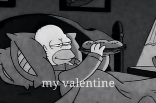 Homer Simpson Valentine