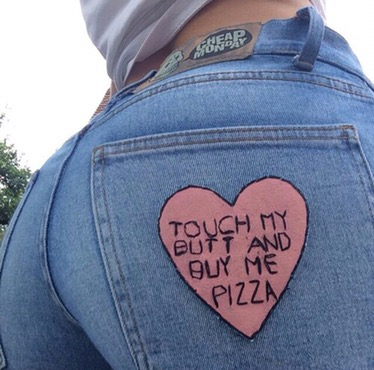 Cheap Monday Buy me pizza
