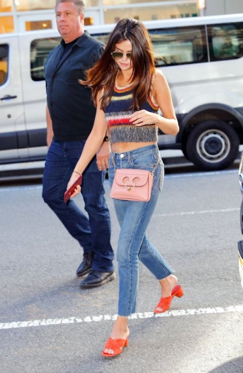 Selena-Gomez-Wears-Alexa-Chung-Rainbow-Top