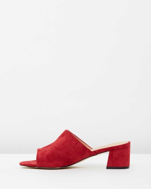 therapy-red mules