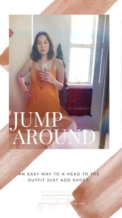 Mango Jumpsuit mustard texture yoganymph