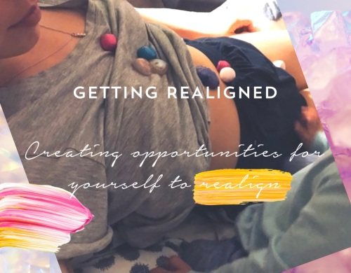 creating opportunities to realign crystals chakras
