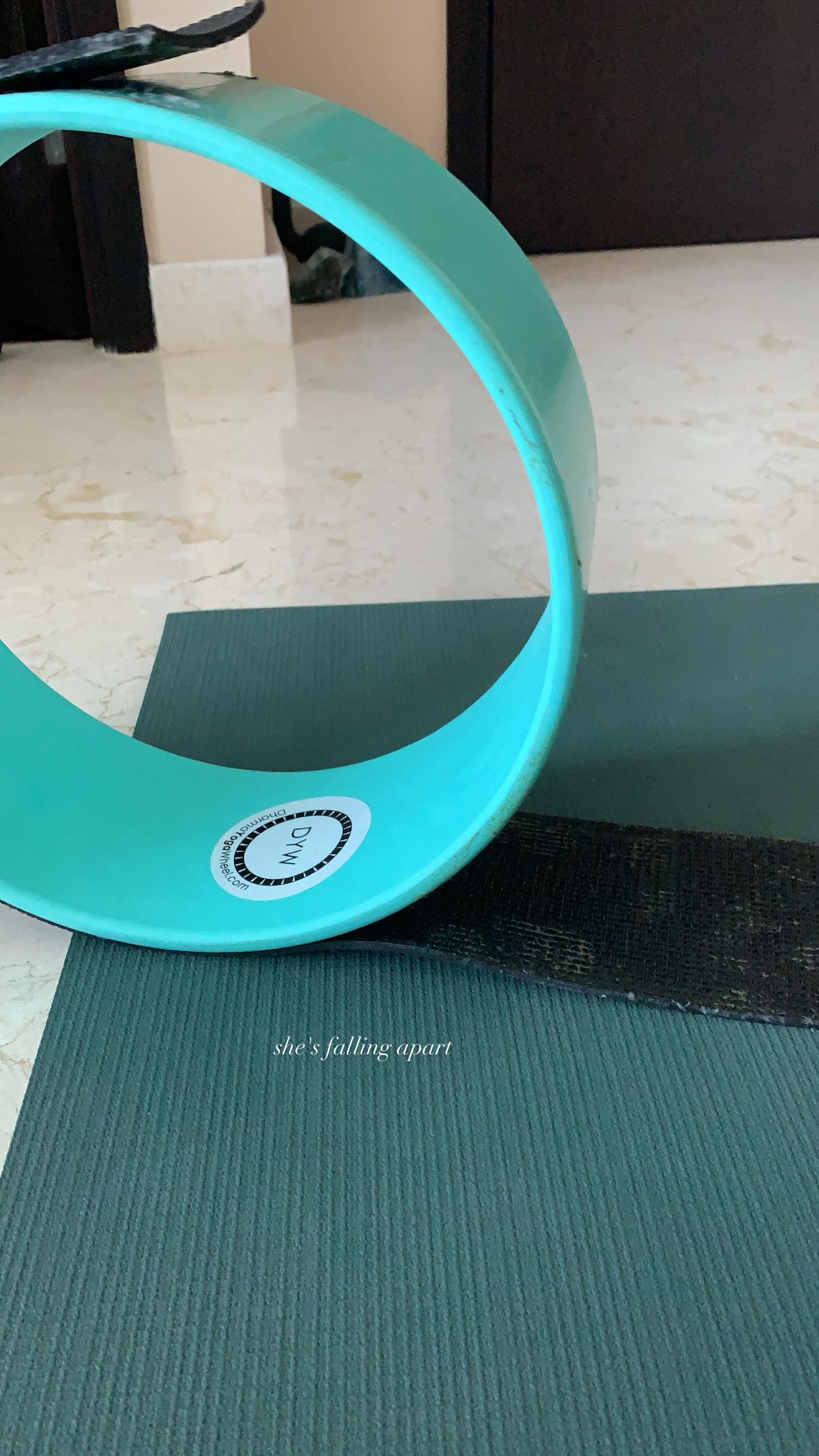 yogawheel yoga stretching flexibility
